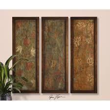 buy uttermost damask panels framed wall art set of on sale online on damask framed wall art with uttermost damask panels s 3 50958 art home decor pinterest