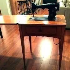 Antique Singer Sewing Machine Cabinet Value