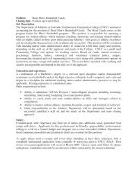 Coaching Resume Cover Letter Coaching Resume Cover Letter Fresh Coach Image And Isolutionme 19