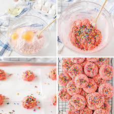 Strawberry Cake Mix Cookies Made To Be A Momma