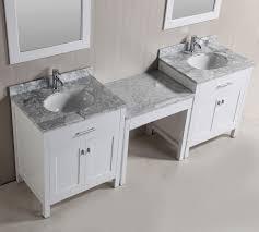 bathroom vanities with makeup table. KeyWest Makeup Vanity Cabinet Bathroom Vanities With Table O