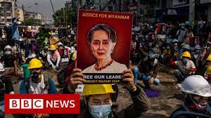 Myanmar army accuses Suu Kyi of taking $600,000 and gold - BBC News -  YouTube