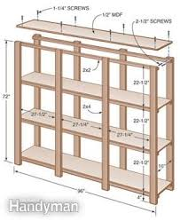storage shelf plans. Interesting Storage Easy Build It Yourself Shelves Build To The Size Of Your Boxes Or Storage  Containers Just Need Plywood 2x4s And 2x2s Inside Storage Shelf Plans