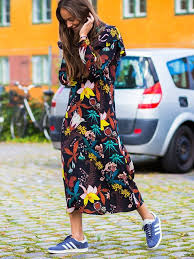 This $20 Dress Is Perfect With Flats and Ankle Boots | платье ...