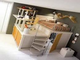 loft bed with desk. full size loft bed with desk underneath; would be neat r