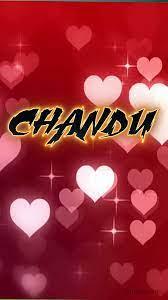 Chandu as a ART Name Wallpaper!
