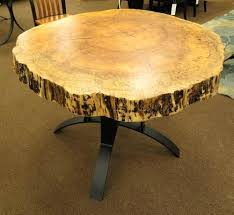 live edge round table live edge maple dining table diy live edge table with resin