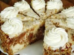 Carrot Cake Cheesecake Recipe Just A Pinch Recipes