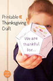 Thanksgiving Craft For Kids Thanksgiving Printable Create In The Chaos