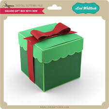 Gift box with bow Pink Square Gift Box With Bow 299 Image Lori Whitlock Svg Shop Square Gift Box With Bow Lori Whitlocks Svg Shop