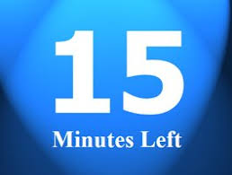 Fifteen Minutes Timer Countdown 15 Minutes Under Fontanacountryinn Com
