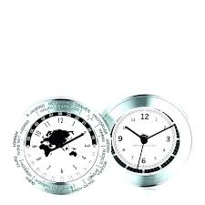 two time zone clocks wall clock world multiple timezone tim