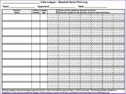 2018 Little League Pitch Count Chart Free Purchase Order Template Excel G4n1u Unique 4 Easy Ways