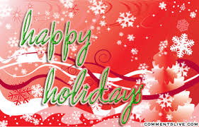 happy holidays snow gif. Simple Gif Happy Holiday Snow Picture  On Holidays Gif