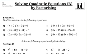 fun algebra worksheets with math worksheets year maths revision