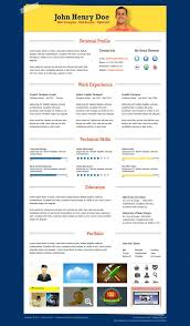Resume Format Template Free Download     BNSC