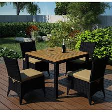 cool garden furniture. Cool Small Garden Furniture 27 VonHaus Wooden Table And 4 Chair Set 1024x1024 F