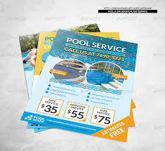 pool service flyers. Fine Service Pool Service Flyer Spa Corporate Katzeline Graphicriver In Flyers S