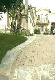 driveway cost per square foot ow concrete patio pavers