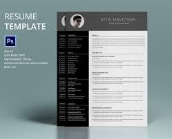 Template Creative Professional Resume 40 Template Designs Fr Resume