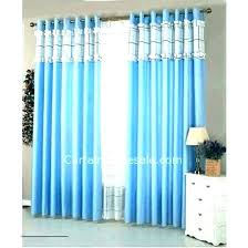 Blue And White Striped Curtains White And Blue Curtain Plain Blue ...