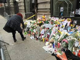 FileDavid Bowie Death New York Apartment Memorial  JPG - New york apartments outside