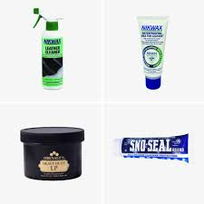 leather cleaner by nikwax 12 waterproofing wax for leather by nikwax 7 boot preservative by obenauf s 18 waterproofing wax by sno seal 6