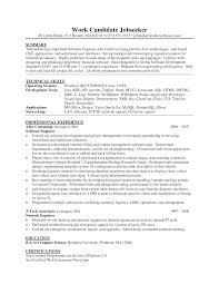 Net Developer Resume Resume For Study