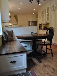 round table with bench seat astounding charming dining tips including best 25 kitchen seating decorating ideas