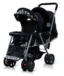 adelina designer double stroller image  double strollers