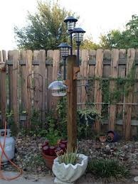 backyard lamp post outdoor goods