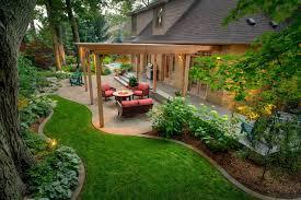 modern garden design backyard