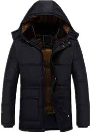 WOCACHI Mens Thicken Jackets <b>Velvet Coat</b> Faux <b>Hooded Parka</b> ...