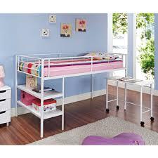Full Bed Loft with Desk   Bunk Bed Desk Underneath   Charleston Storage Loft  Bed with