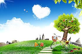 beautiful background images nature. Fine Beautiful Natural Beauty Of Green Grass Cycling Apple Letters Printed Background To Beautiful Background Images Nature X