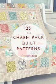 Best 25+ Charm pack patterns ideas on Pinterest | Baby quilt ... & 23 Charm Pack Quilt Patterns Adamdwight.com
