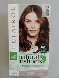 Natural Instincts Light Golden Red Clairol Natural Instincts Gentle Hair Color 6g Light Golden