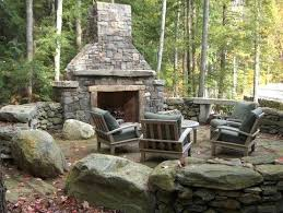rustic fire pit. Decoration: Rustic Fire Pit Might Be Too Much For What We Had In Mind But