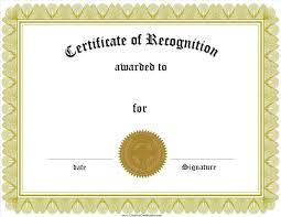 Certificate Of Appreciation Unique Printable Award Certificates Free
