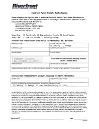 Recurring Payment Authorization Form Fillable Online Riverfrontfcu Ach Recurring Payment Authorization
