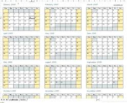 Monthly Excel Calendar Free Template For 2015 C Header Calendars Mo