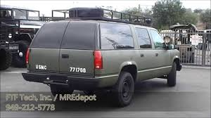 1994 Military GMC Suburban 2500 with 6 5 Liter Turbo Diesel from ...