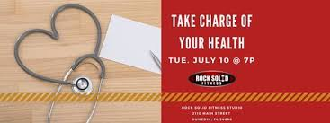 fitness seminar take charge of your health at rock solid fitness fl florida