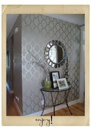 Martha Stewart Bedroom Paint Colors Metallic Painted Wallpaper Tedious But Oh So Stunning For When