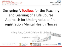 PPT - Hilary Ford, CLAHRC Fellow 2012-2013 Anglia Ruskin University  PowerPoint Presentation - ID:4120480