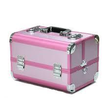 whole alibaba pink small aluminium makeup vanity case cosmetic box makeup kit