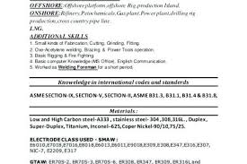 Welding Resume – Foodcity.me