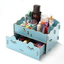 makeup organizer wood. make up cosmetics organizer diy wood drawers storage box /wood makeup organizer-in boxes \u0026 bins from home garden on aliexpress.com | alibaba group