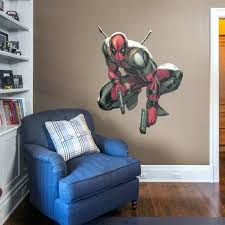 life size officially licensed marvel removable wall decal fathead superhero stickers heroes