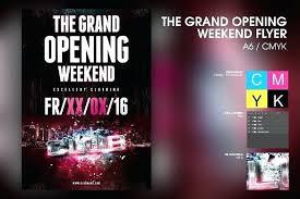 Now Open Flyer Template Now Open Flyer Template Printable House